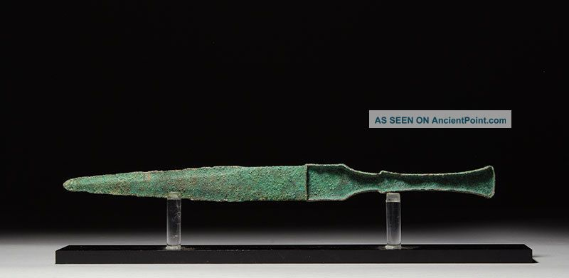 Ancient Near Eastern Persian Bronze Age Luristan Dagger / Short Sword Weapon Near Eastern photo