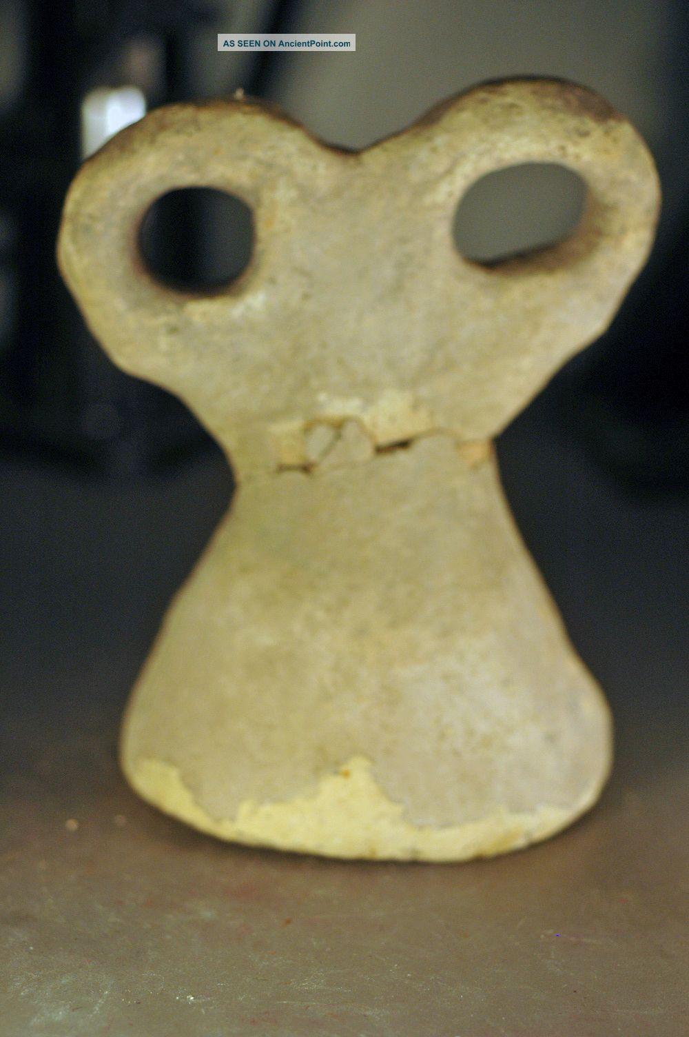 Eye Idol,  Levantine Bronze Age Clay Over 3000 Years Old Near Eastern photo