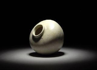 Hoi An Hoard 1400 ' S Shipwreck Salvaged Sunken Treasure Artifact Cream Vase photo