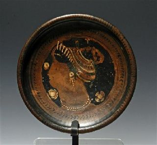 Artemis Gallery Greek South Italic Plate - Lady Of Fashion photo