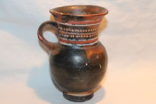 Quality Ancient Greek Thistle Mug Pottery 4th Century Bc photo