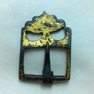 Medieval.  Scarce Ornate Buckle - 13th/14th Century photo