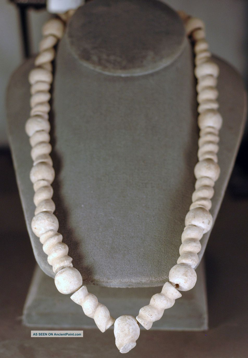 Necklace,  Levantine Bronze Age Stone Bead Over 3000 Years Old Near Eastern photo
