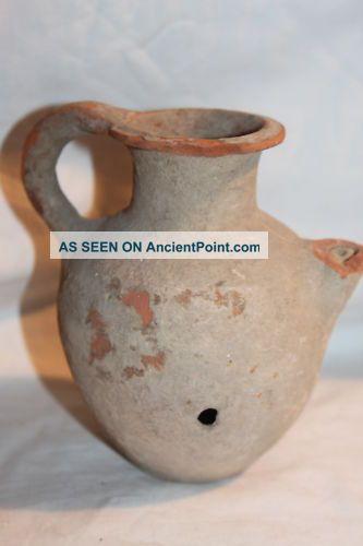 Ancient Near Eastern Holyland Pottery Feeder C.  1st Century Bc/ad Near Eastern photo