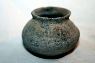 Ancient Indus Valley Pottery Vase 2800 1800 Bc Harappan photo