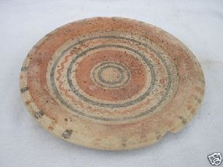 Ancient Greek Pottery Hellenistic Dish 4th Bc photo