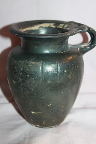 Large Ancient Greek Pottery Olpe 4th Bc Wine Cup photo