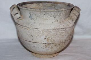 Ancient Greek Daunian Pottery Stamnos 5th Century Bc photo