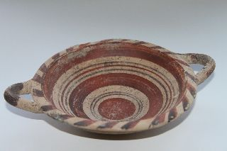 Rare Quality Ancient Greek Pottery Canosan Kylix 5th Century Bc photo