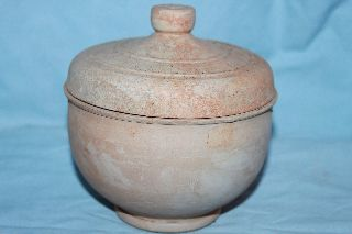 Good Quality Ancient Greek Pottery Pyxis 4th Century Bc photo