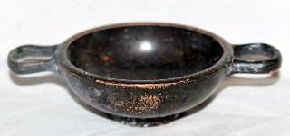 Ancient Greek Pottery Hellenistic Kylix 3rd Century Bc Wine Cup photo