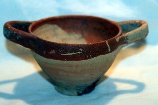Ancient Greek Corinthian Wine Cup Kylix 6/5th Century Bc photo