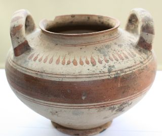 Large Greek South Italian Messapian Vase photo