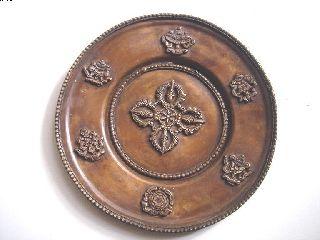 Tibet Religious Symbol Ritual Practice Solid Brass Copper 8