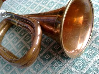Rare Military 1880 - 1920 Trumpet / Bugle Ef photo