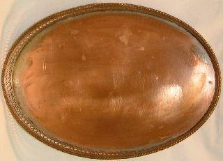 Antiques : Sheffield Copper Plate Victorian Tray Circa 1900 (m) photo