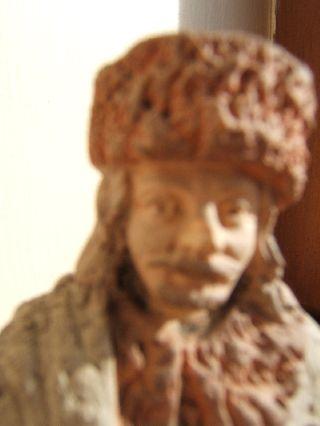 Russian,  Eastern Europe Antique Sculpture ' Carpet Seller ' Rare Workmanship photo