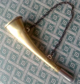 19 Th.  Rare Hunter Trumpet / Bugle For Duck Hunting photo