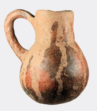 Cypriot Early Bronze Age Burnished Slip Jug photo
