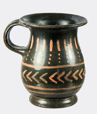 Greek Xenon - Ware Pottery Vessel photo