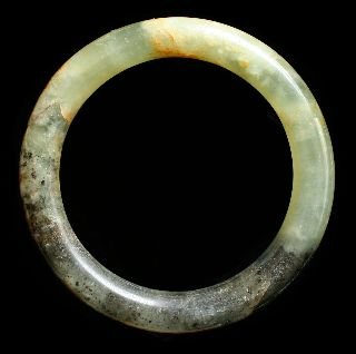 Marbled Green Hardstone Bangle Bracelet Jewellery photo