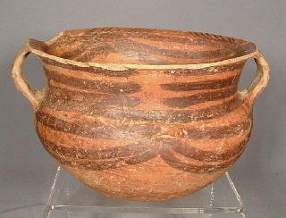 Antique Chinese Neolithic Machang Pottery Pot photo