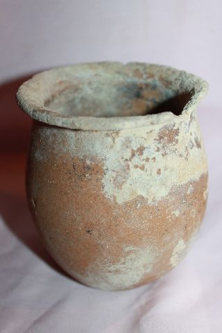 Ancient Roman Pottery Vase 2/3rd Century Ad photo