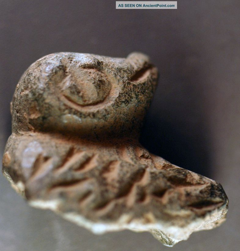 Animal Sculpture Fragment,  Levantine Bronze Age Stone Over 3000 Years Old Nrd Nr Near Eastern photo