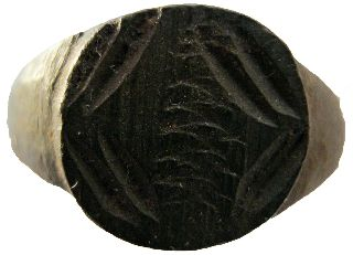 Bronze Roman Ring 20mm/2.  90g M - 316 photo