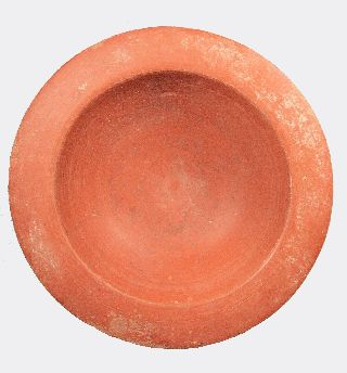 Roman Red Slip Ware Pottery Bowl photo