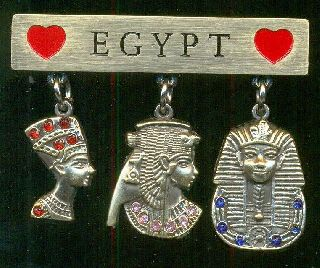 Egyptian Refrigerator Magnets,  ägyptischen Kühlschrankmagneten,  Aimants Pour Réfri photo