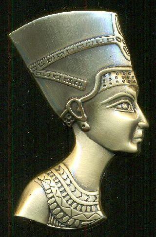 Egyptian Refrigerator Magnets,  ägyptischen Kühlschrankmagneten,  Queen Nefertiti photo