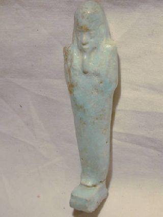 Ancient Egyptian Ushabti 30th Dyn photo