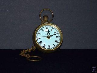 Antique Bronze English Watch photo
