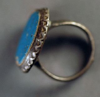 Ring,  Antique Silver Over 100 Years Old photo
