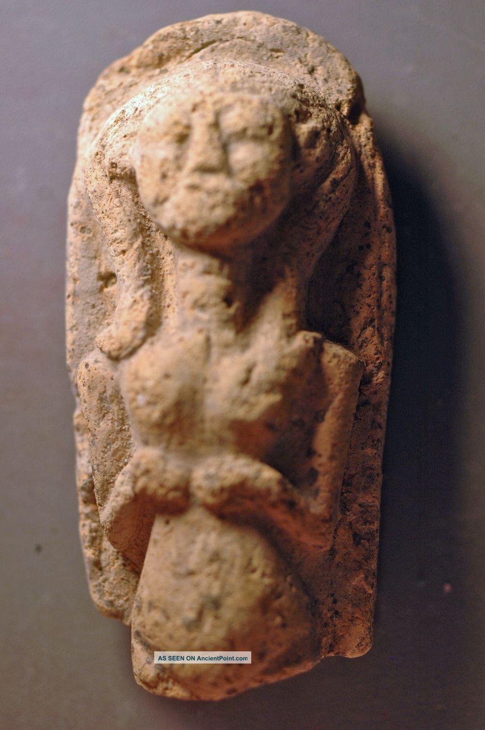 Idol,  Levantine Bronze Age Clay Over 3000 Years Old Near Eastern photo