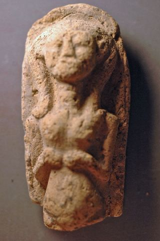 Idol,  Levantine Bronze Age Clay Over 3000 Years Old photo