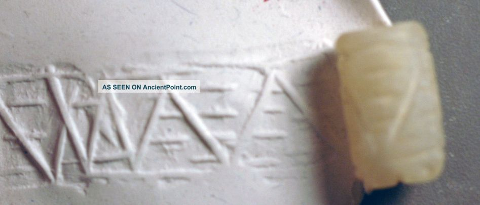 Rolling Stamp,  Levantine Bronze Age Stone Over 3000 Years Oldars Old Near Eastern photo
