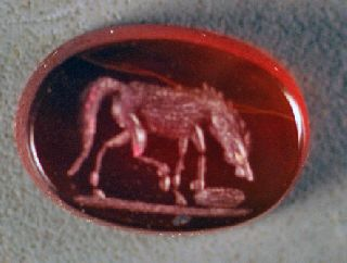 Reproduction Roman Intaglio photo