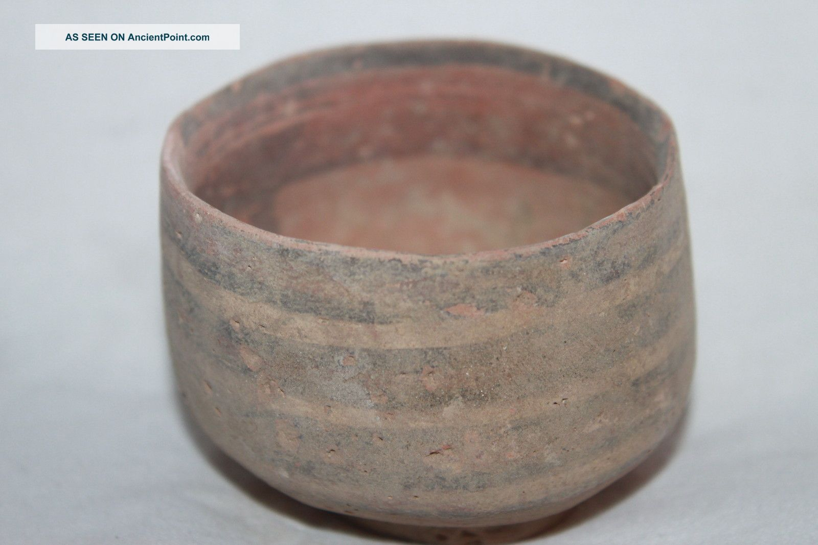 Ancient Indus Valley Pottery Cup 2800 1800 Bc Harappan Near Eastern photo