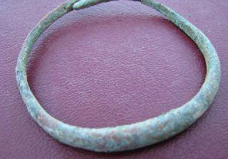 Ancient Roman To Medieval Period Bronze Bracelet 5079 photo