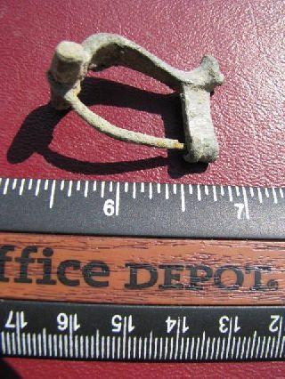 Roman Knee Type Fibula Brooch - 2nd Century Ad 3040 photo