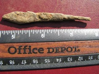 Ancient Roman / Medieval Iron Arrowhead 2686 photo