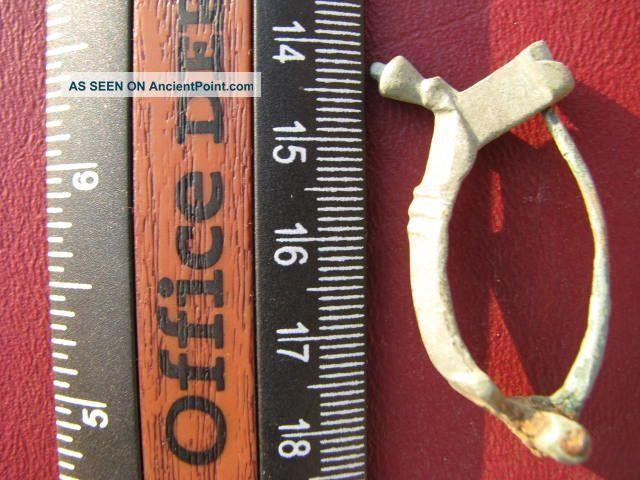 Roman Unascribed Fibula Brooch  1818 Roman photo