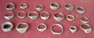 19 Roman To 20th Century Finger Rings 5327 photo