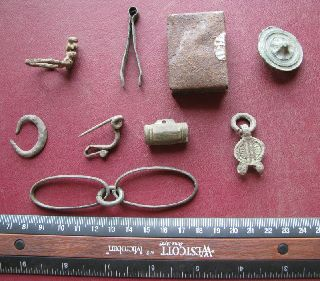 Metal Detector Finds - Ancient Artifacts Lot 7321 photo