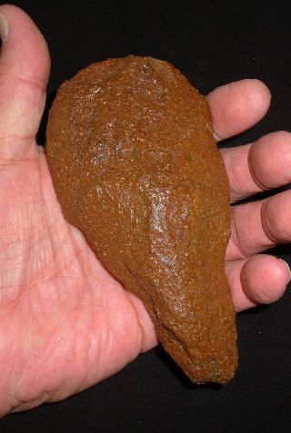 Select Paleolithic Acheulean Early Man Hand Axe,  Ancient African Artifact Aaca photo