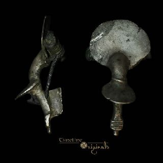 Ancient Roman Pannonia Type Silver Brooch Fibula 014532 photo