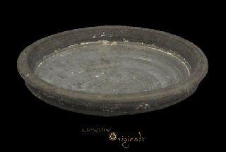 Ancient Roman Ceramic Terracotta Shallow Dish Bowl 019266 photo