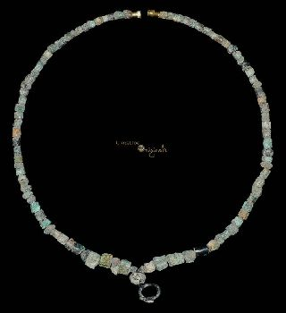 Pre - Achaemenid Parthian Bronze Bead Necklace 017594 photo